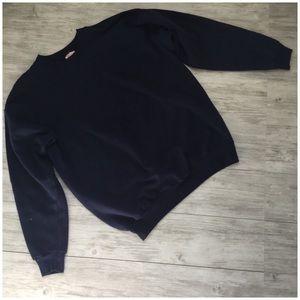 Hanes Navy Blue Sweatshirt - M